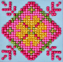 Diamond Dotz Patchwork Mandala 1 - Needleart World    nw-dds-027