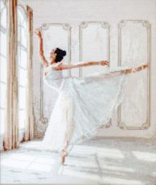 Borduurpakket Ballerina - Leti Stitch    leti-0901
