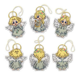 Borduurpakket Decoration Little Angels - RIOLIS    ri-1778