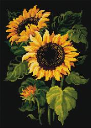 Diamond Mosaic Sunflowers - RIOLIS    ri-am0006