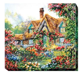 Kralen borduurpakket Home Sweet Home - Abris Art    aa-ab-403