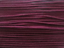 Koord Bordeaux Rood / 3 mm