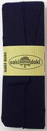 Oaki Doki Tricot de Luxe  / Jersey Biaisband / Donker Blauw 009