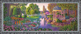 Kralen borduurpakket By the Pond - Abris Art    aa-ab-179