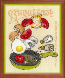 Borduurpakket Breakfast - RIOLIS    ri-1684