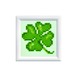 Diamond Dotz Lucky Leaves DD Kit with Frame - Needleart World    nw-dds-011f