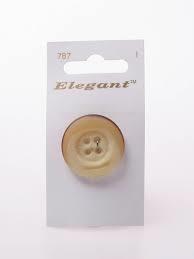 Knopen Elegant - Bruin / 787