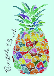 Diamond Dotz Pineapple Crush - Needleart World    nw-dd06-006
