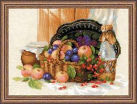 Borduurpakket Summer Abundance - RIOLIS    ri-1610