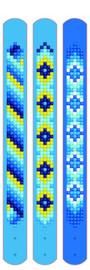 Diamond Dotz Dotzies 3 Bracelets Multi Pack - Blues - Needleart World    nw-dtz11-007