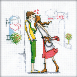Borduurpakket Couple in the city - RTO    rto-m00163