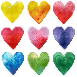 Diamond Dotz Love Rainbow - Needleart World    nw-dd03-026