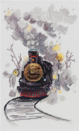 Borduurpakket The Misty Express - PANNA    pan-7070-gm