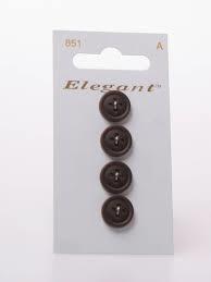 Knopen Elegant - Bruin / 851