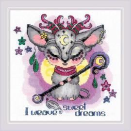 Borduurpakket Good Souls - Moon - RIOLIS    ri-1896