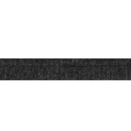 Oaki Doki Tricot de Luxe  / Paspelband 3 mm / Donker Grijs 68