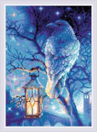 Diamond Mosaic Wise Raven - RIOLIS    ri-am0043
