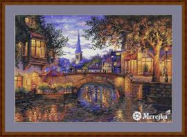 Borduurpakket Twilight Reflection - Merejka    mer-k186