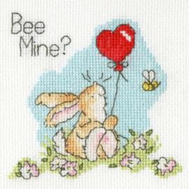 Borduurpakket Margaret Sherry - Bee Mine? - Bothy Threads    bt-xgc18