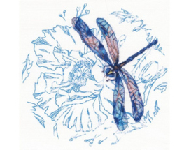Borduurpakket Dance of dragonflies - RTO    rto-m70023