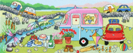 Borduurpakket Julia Rigby - Caravan Fun - Bothy Threads    bt-xjr34