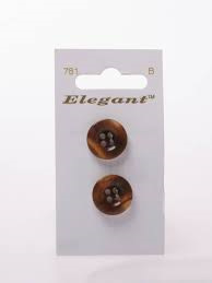 Knopen Elegant - Bruin / 781