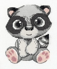 Borduurpakket Pepe the Raccoon - PANNA    pan-08-0327