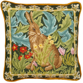 Borduurpakket William Morris - Woodland Hare Tapestry - Bothy Threads    bt-tac11