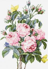 Borduurpakket Bouquet of Roses - Luca-S    ls-ba2373