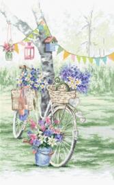 Borduurpakket Bike - Leti Stitch    leti-0971