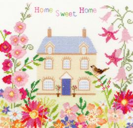 Borduurpakket Friends & Family - Home Sweet Home - Bothy Threads    bt-xss05