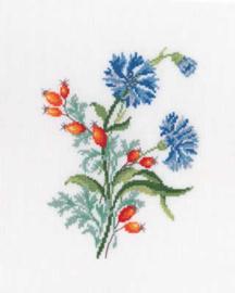 Borduurpakket Cornflowers - RTO    rto-c261