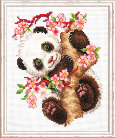 Borduurpakket Panda - Chudo Igla (Magic Needle)    ci-019-026