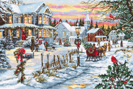 Borduurpakket Christmas Eve - Luca-S    ls-b595
