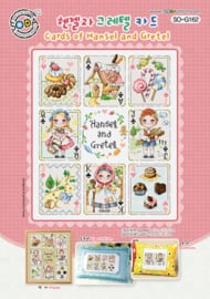 Borduurpatroon Cards of Hansel and Gretel - Soda Stitch    so-g162