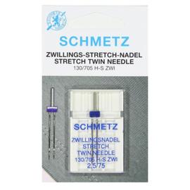 Schmetz tweelingnaald stretch 2.5 / 75
