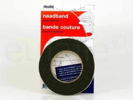 Vlieseline Naadband.  Zwart / 231066