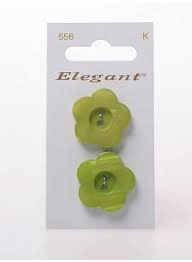 Knopen Elegant - Groen / 556