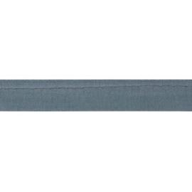 Oaki Doki Tricot de Luxe  / Paspelband 3 mm / Blauw Grijs 106