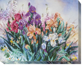 Kralen borduurpakket Morning Garden - Abris Art    aa-ab-494