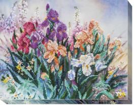 Kralen borduurpakket Morning Garden - Abris Art    aa-ab-494