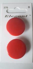 Knopen Elegant rood (376)
