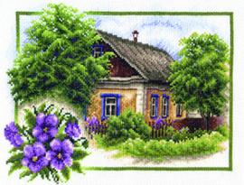 Borduurpakket Summer House - PANNA    pan-0322-ps