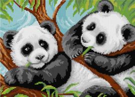 Diamond Painting A Pair of Pandas - Freyja Crystal   fc-alvr-139
