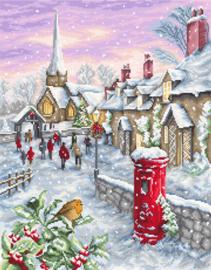 Borduurpakket Christmas Eve - Luca-S    ls-b2361