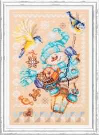 Borduurpakket Christmas Treats - Chudo Igla    ci-100-260