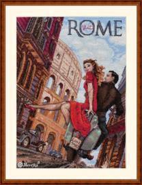 Borduurpakket Visit Rome - Merejka  mer-k180