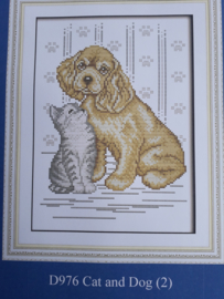 Cross Stitch / Cat and Dog