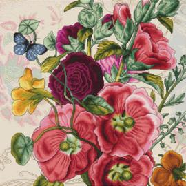 Borduurpakket Summer flowers - Luca-S    ls-b2366