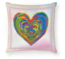 Diamond Dotz Love Rest Mini Pillow - Needleart World    nw-ddp02-038